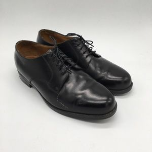 Florsheim Comfortech Black 2E Oxford Shoes